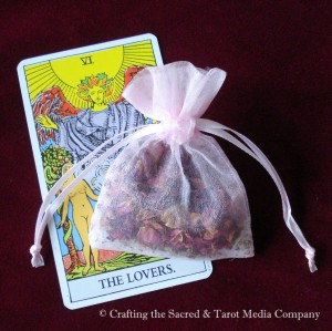 Tarot Bath Sachet - VI The Lovers