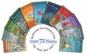 The 72 Names Cards