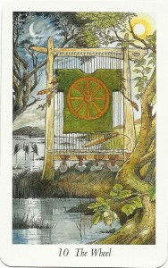 Wildwood Tarot: 10, The Wheel
