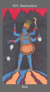 Kali - Dark Goddess Tarot