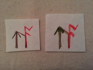 Bind Rune for Confidence - Uruz, Ac, Teiwaz