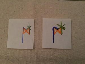 Bind Rune for a Glamour - Ior, Dagaz, Laguz